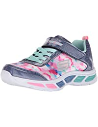 Skechers Mädchen Litebeams-Dance N'Glow Sneaker