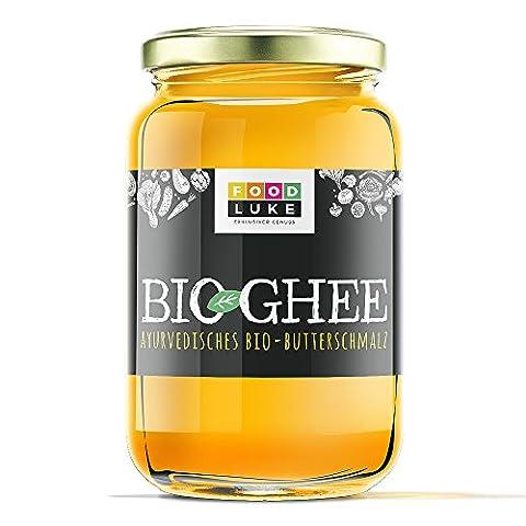 Bioland - BIO Ghee - Butterschmalz - ayurvedisches Ghee 420g hergestellt aus biologischer Butter DEUTSCHES PRODUKT