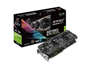ASUS ROG Strix GeForceGTX 1070TI ADVANCE Edition 8GB GDDR5 256BIT DVI 2xHDMI 2xDP Ekran Kartı