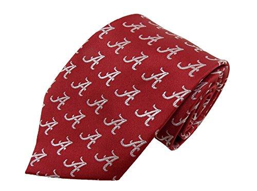 Donegal Bay NCAA Alabama Crimson Tide Wiederholen Primary Krawatte, One Size, Crimson