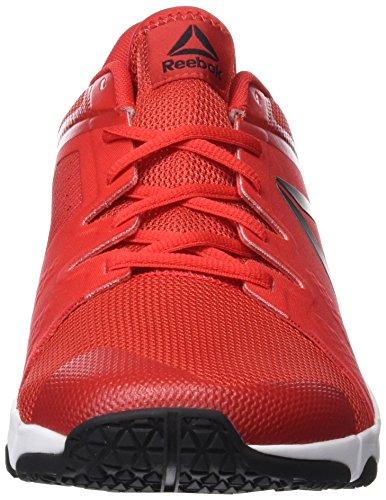 Nero multicolore Peltro Rosso Bianco Primordiale Rosso Rosso Trainflex Nero Bianco Fitness Uomo Scarpe Reebok wPO8fqv