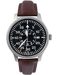 Aristo automático para hombre Palazzo Planeador Reloj 3h116