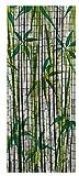 Wenko 819113500 Bambusvorhang Bamboo, Bambus, mehrfarbig, 200 x 90 x 0,2 cm