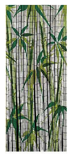 Wenko 819111500- Cortina de bambú, Puesta del Sol, Bambús, Multicolor, 200x 90x 0,2cm, bambú, Multicolor, 200 x 90 x 0.2 cm