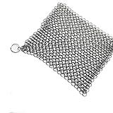 Malloom® Edelstahl 316 Gusseisen Reiniger Bürstenwäscher für Gusseisen Pan Cast