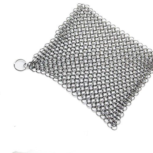Maschine Ringer (Malloom® Edelstahl 316 Gusseisen Reiniger Bürstenwäscher für Gusseisen Pan Cast)