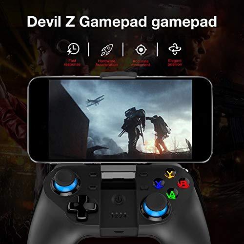 Gamepad Controlador inalámbrico Bluetooth para juegos móviles, controlador  inalámbrico Bluetooth Gamepad