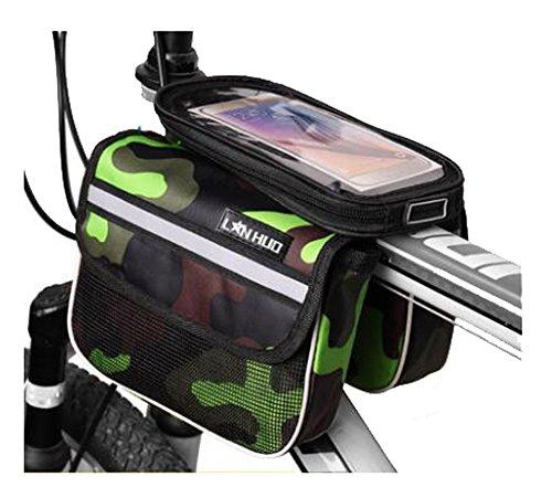 Bike Bag Bunte Fahrrad Lenker Pakete für 6 Zoll Telefon Multi-Funktions-Fahrrad-Zubehör#11