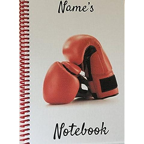 Guanti da boxe, personalizzabile NOTEBOOK