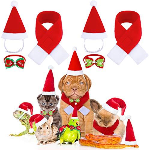 Hund Kostüm Tragen - 6 Stück Weihnachten Haustier Kostüme Hund