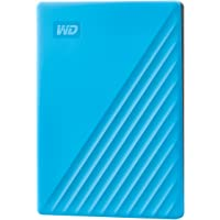 WD 2TB My Passport Portable External Hard Drive, USB 3.0, Compatible with PC, PS4 & Xbox (Blue) - with Automatic Backup…