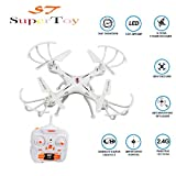 #5: SuperToy(TM) Drone Professional Quadcopter 360° Drone with 2.4G Rc Helicopter Toy One Key Return Without Camera