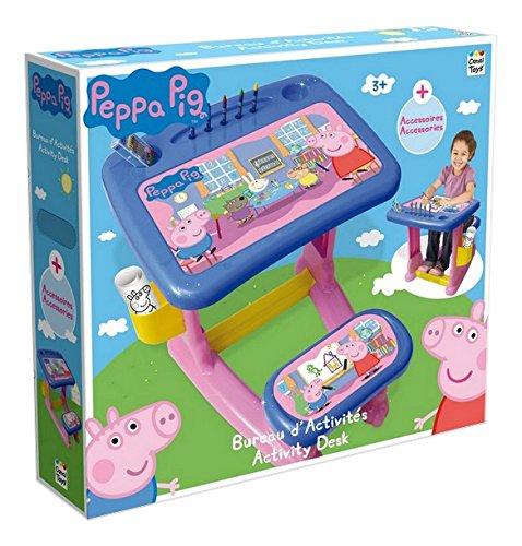 Peppa Pig - Escritorio y taburete