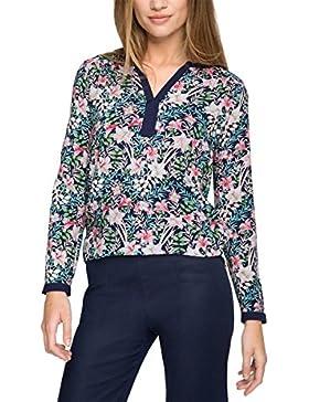 ESPRIT Collection Damen Bluse 046eo1f010 - Fließend Weiche Qualität