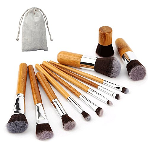 ammiyr11-pcs-natural-wood-make-up-brush-set-professional-handle-premium-synthetic-kabuki-foundation-
