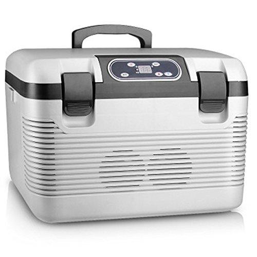 CAPTIANKN Tragbare Elektrische 12 V Auto Kühlschrank Permeation Heizung Konstante Temperatur Tasche Doppelkern Heizung Isolierung Fahrzeug Kühlschrank-19L Kapazität (19L)