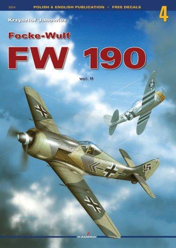 Focke Wolf Fw 190 Vol.II (Monographs) por Krzysztof Janowicz