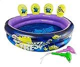 Disney Pool Aufblasbare Toy Story 4 | Kinderbecken Im Freien Mit Zielschießen Aktivität, Inklusive...
