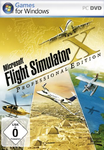 Flight Simulator X - Professional Edition (Spiele Flight Pc)