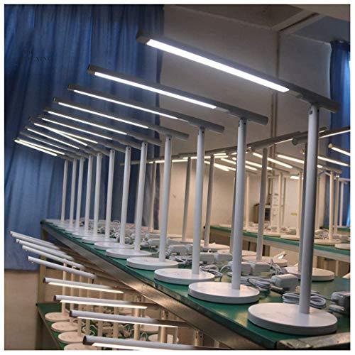 MJK Schreibtischlampe, LED-Tischleuchte, LED-Tischleuchte für Studenten, LED-Tischleuchte für moderne Minimalisten -