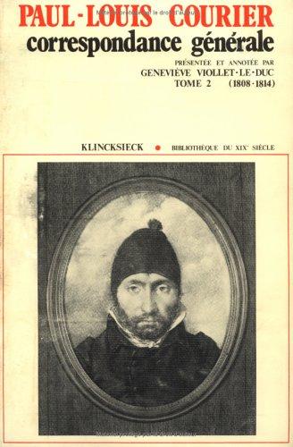 Correspondance t2 1808-1814