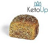 KetoUp: Frisches Low Carb Mehrkornbrot | Ketogene und Low Carb Ernährung | Sportnahrung | Gesunde Ernährung | enthält maximal 3% Kohlenhydrate - 550g