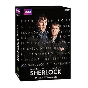 Sherlock - Temporadas 1- 3 [DVD]
