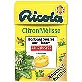 Ricola citron mélisse sans sucres 50g Envoi Rapide Et Soignée ( Prix Par Unité )