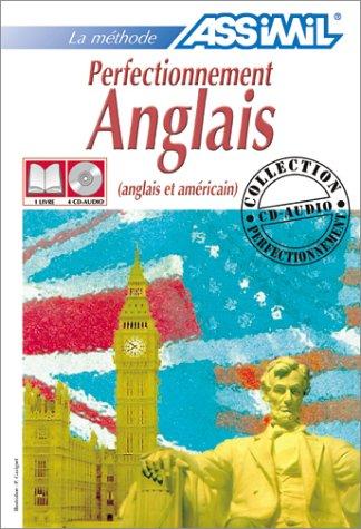 Perfectionnement Anglais (1 livre + coffret de 4 CD)