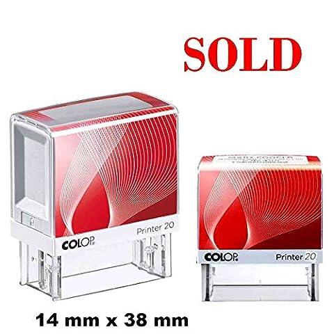 Verkauft selbstfärbende Stempel Custom COLOP Büro stationären 14 X 38