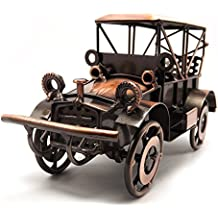 Tipmant Antiquariato del Metallo d'epoca Vecchio Modello di Auto Home Decor Ornamenti Decorazioni Fatte a Mano Artigianali Collezioni Collezione di Veicoli Giocattoli