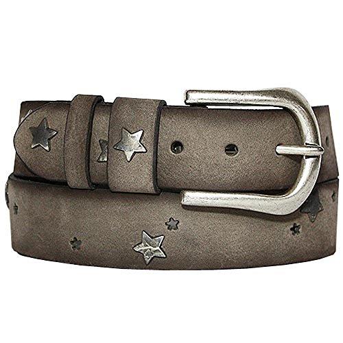 311aab7c6b2c Vanzetti selection ceinture pour femme en cuir avec chaîne argentée  astérisque s1538A6259.620