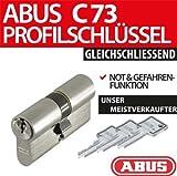 Abus Profilzylinder C73 C95 N+G gleichschliessend Lagerschliessung, Länge:30/30