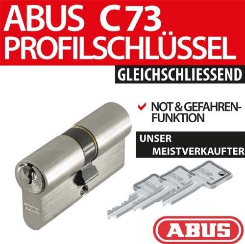 ABUS Profilzylinder C73 C95 N+G gleichschliessend Lagerschliessung