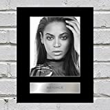 Beyoncé Knowles Signiert Foto Display