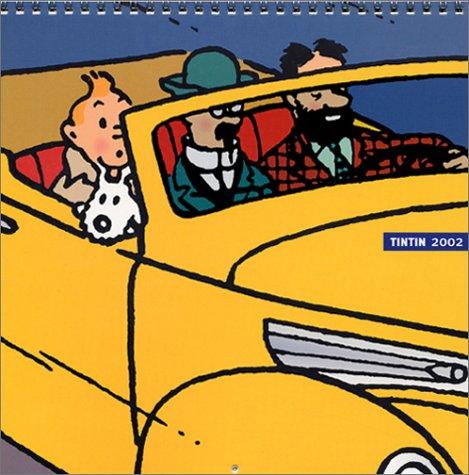 Tintin : Calendrier de luxe 2002