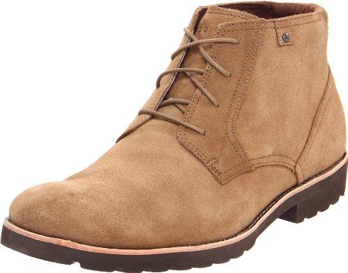 Rockport Ledge Hill Boot K724877, Stivaletti uomo, Beige (Beige (Vicuna)), 42.5