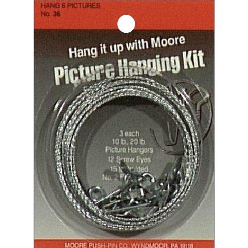 Moore Push Pin Bilder-Aufhänge-Set (Push-pin-bilderrahmen)