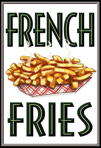 Garten-fries (French Fries Blechschild)