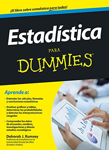 Estadística para dummies por Deborah J. Rumsey