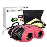 EUTOYZ Spielzeug für Mädchen ab 3-12 Jahre, Kompakt Fernglas Kinder Geschenke für Mädchen 3-12 Jahre Geburtstagsgeschenk für Mädchen 3-12 Jahre Geburtstag Rosa