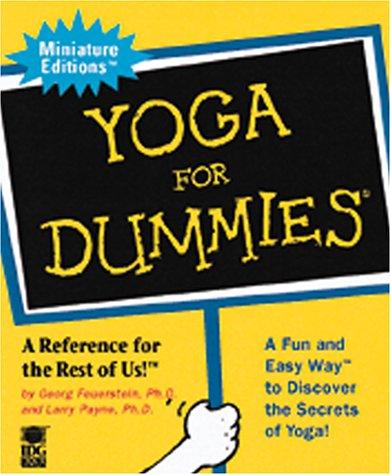 Yoga for Dummies (Miniature Editions for Dummies (Running Press)) por Georg Feuerstein PH.D.