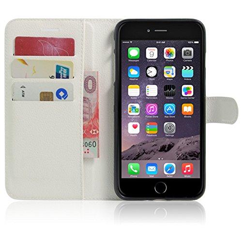 iPhone 7 Plus Coque, iPhone 7 Plus portefeuille Coque, Lifeturt [ Perle papillon ] Livre cuir de qualité supérieure Wallet Case Cover pour iPhone 7 Plus E02-34-Cyan diamant