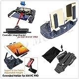XSD MODEL Antenne Reihe Booster & Fernbedienung Handy Tablet PC Halterung & Controller-Halterung und Genickriemen für DJI Mavic Pro