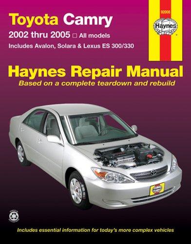 toyota-camryavalonsolaralexus-es300-330-repair-manual-2002-2005
