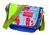 Sigikid Jungen, Kindergartentasche Fahrzeuge, Traffic, Kinder-Sporttasche, 22 cm, Blau/Grün, 24670