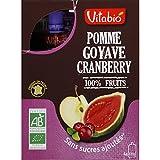 vitabio Compote pomme goyave cranberry bio ( Prix unitaire ) - Envoi Rapide Et Soignée