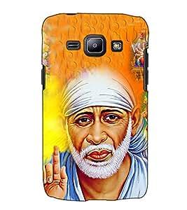 Fuson Designer Back Case Cover for Samsung Galaxy J2 J200G (2015) :: Samsung Galaxy J2 Duos (2015) :: Samsung Galaxy J2 J200F J200Y J200H J200Gu (Saibaba Hanuman Ram theme)