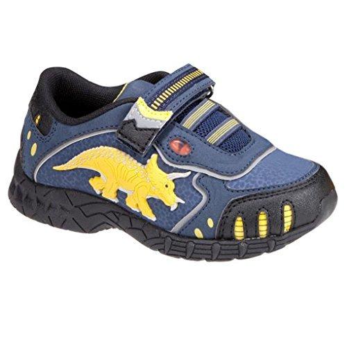 Dinosoles Triceratops - Zapatillas de deporte de Material Sintético para niña Azul azul