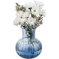 Dartington Crystal Bijou Vase, Glass, Ink Blue, Large
